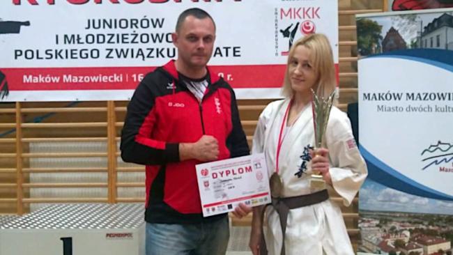 Krośnianka Mistrzynią Polski Karate