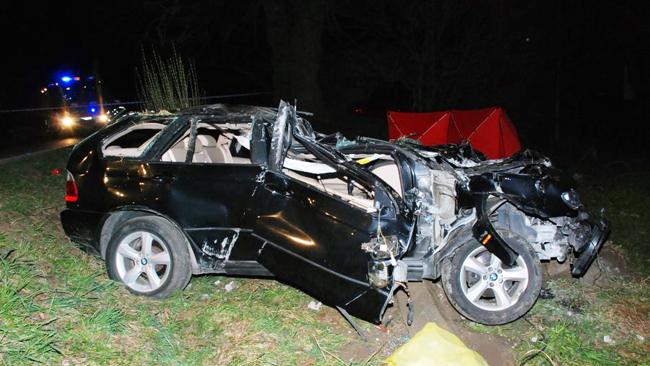 25-latek zginął w wypadku